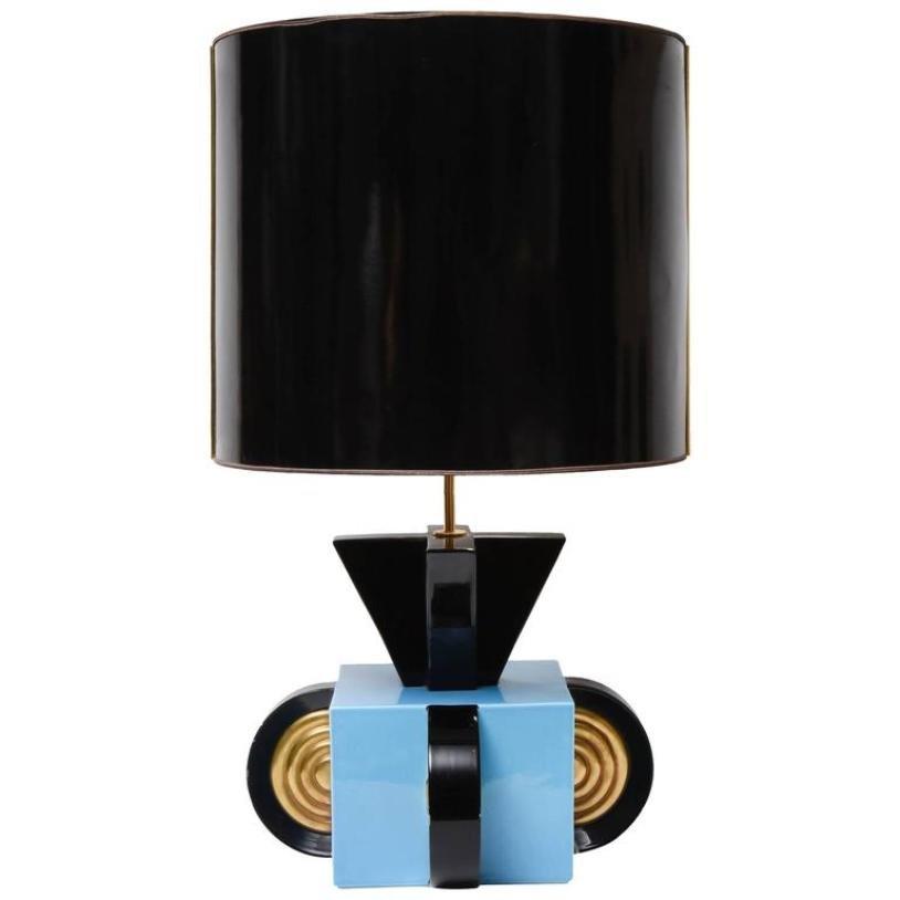 Italienische Tischlampe aus Keramik, 1970