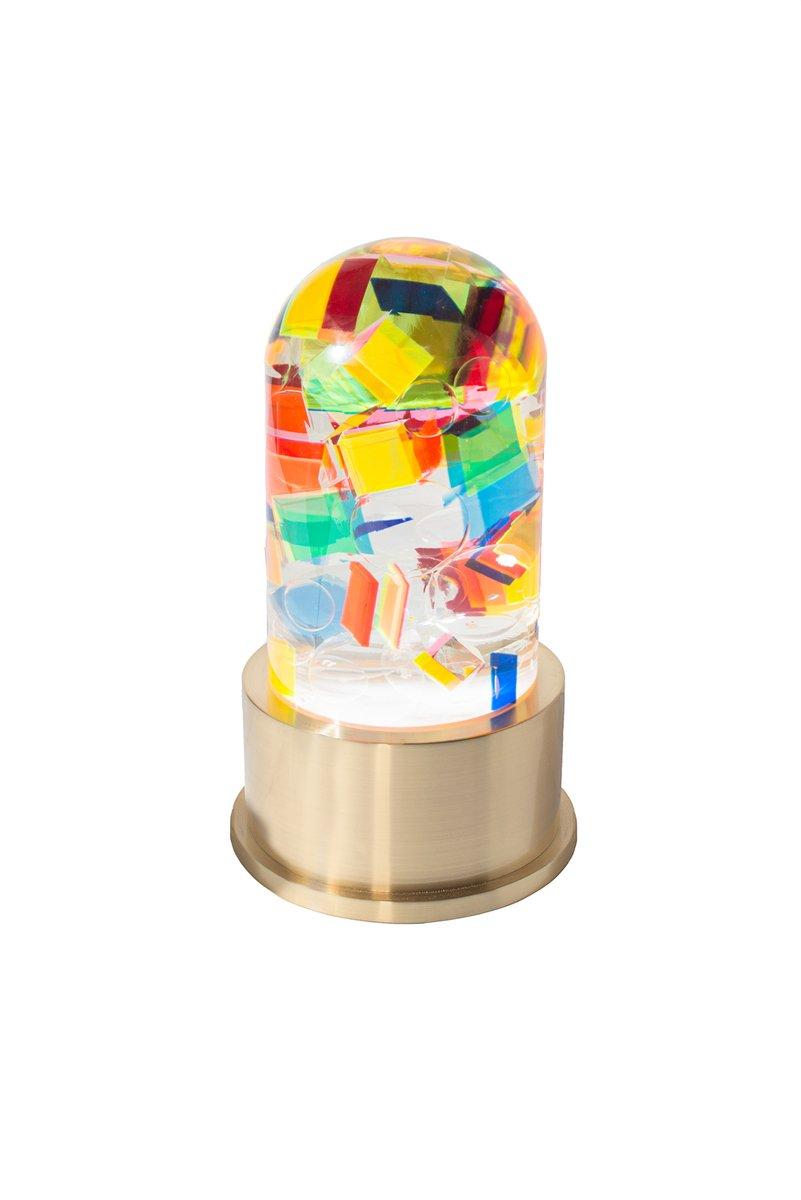Chaos Tischlampe aus Lucite von Studio Superego