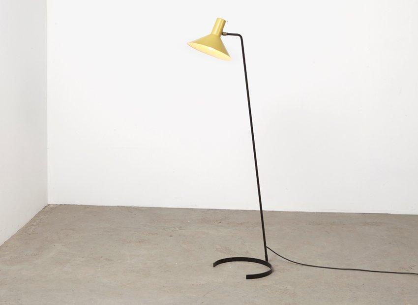 Stehlampe 8025 von J. Hoogervorst für Anvia, 1950er