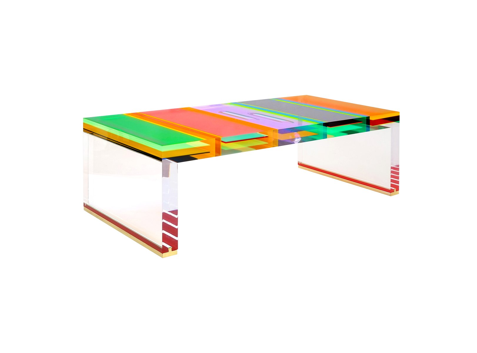 table basse dna en plexiglas par studio superego en vente sur pamono. Black Bedroom Furniture Sets. Home Design Ideas