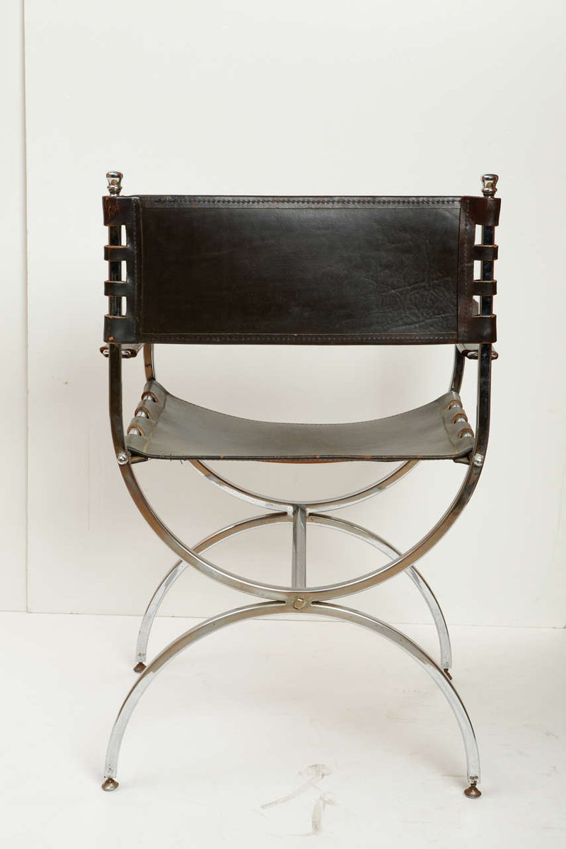 Sedie In Ferro Vintage. Stunning Sedia Da Sala Da Pranzo In Metallo ...