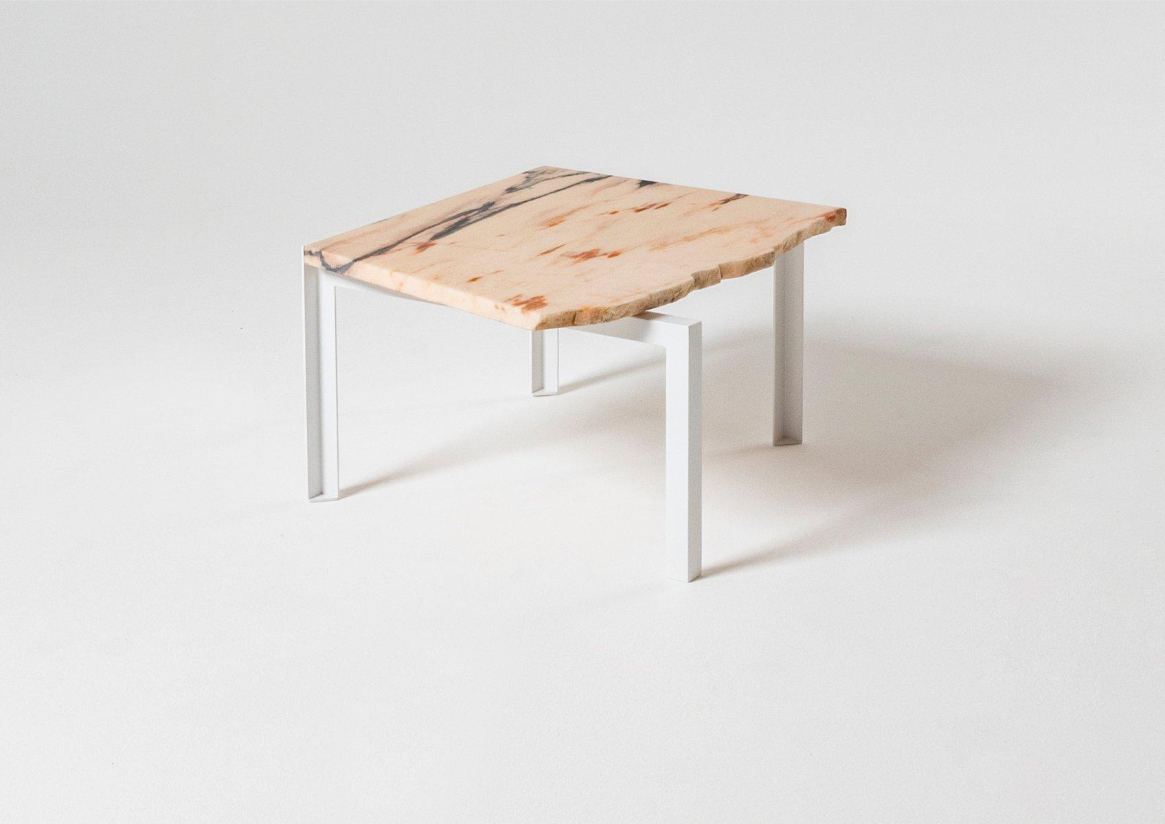 table d appoint petit d 39 angle par herv humbert pour atelier haussmann en vente sur pamono. Black Bedroom Furniture Sets. Home Design Ideas