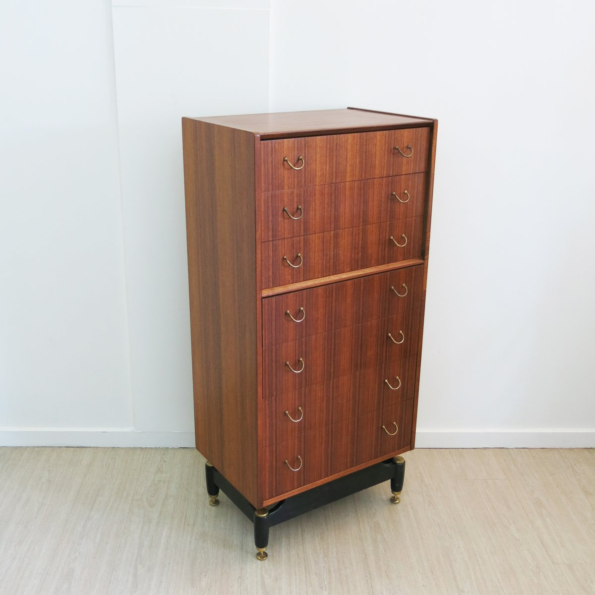 Mid Century Chest Of Drawers From G Plan 1950s