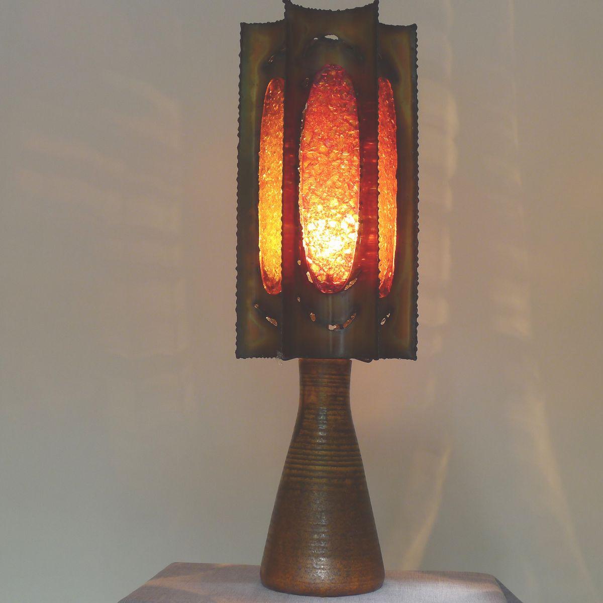lampe de bureau vintage d 39 accolay en vente sur pamono. Black Bedroom Furniture Sets. Home Design Ideas