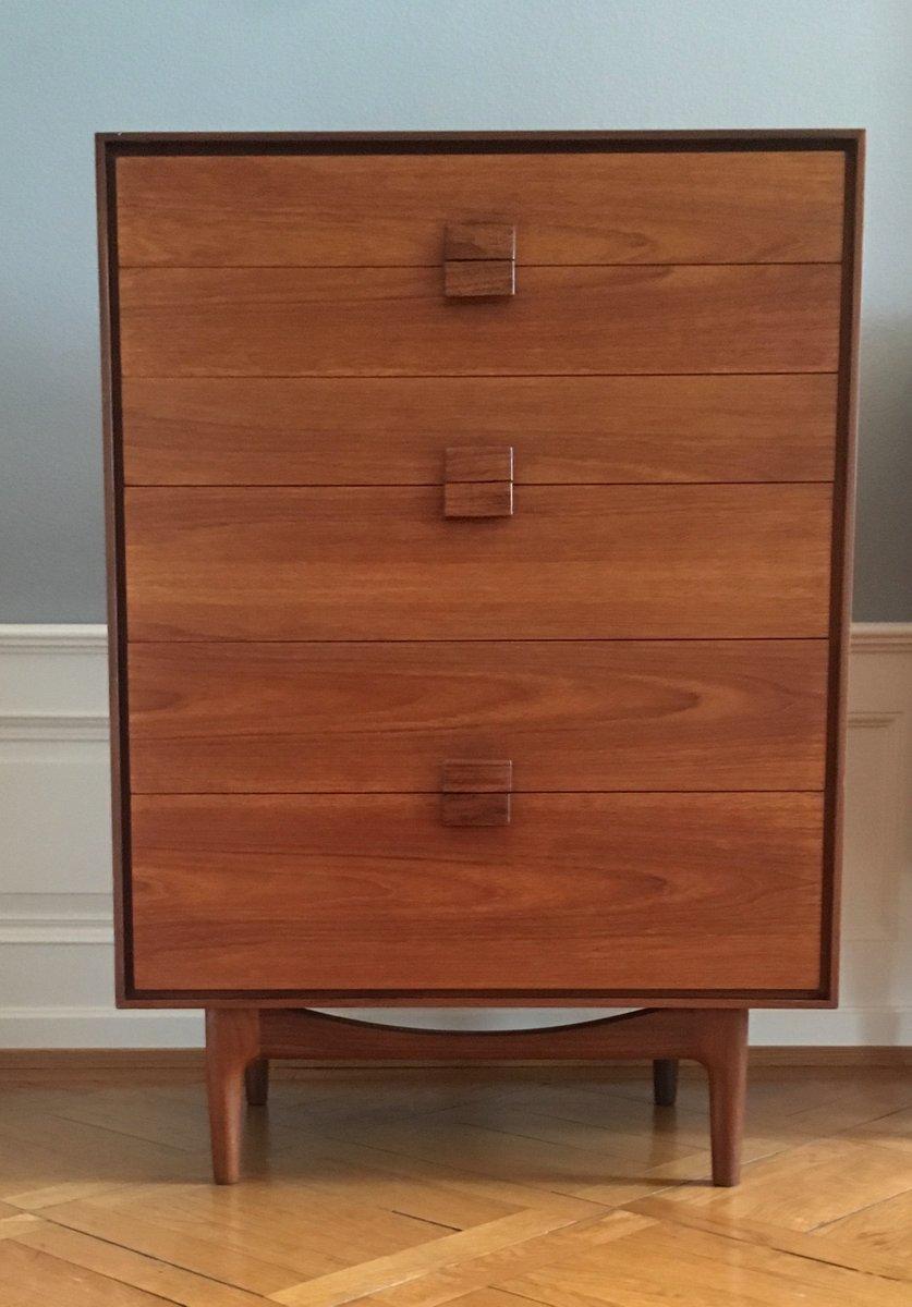 d nische mid century kommode aus teak palisander von ib kofod larsen f r g plan 1960er bei. Black Bedroom Furniture Sets. Home Design Ideas