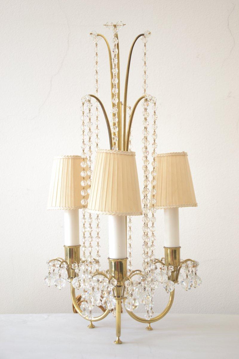 Tischlampen von J & L Lobmeyr, 1950er, 2er Set