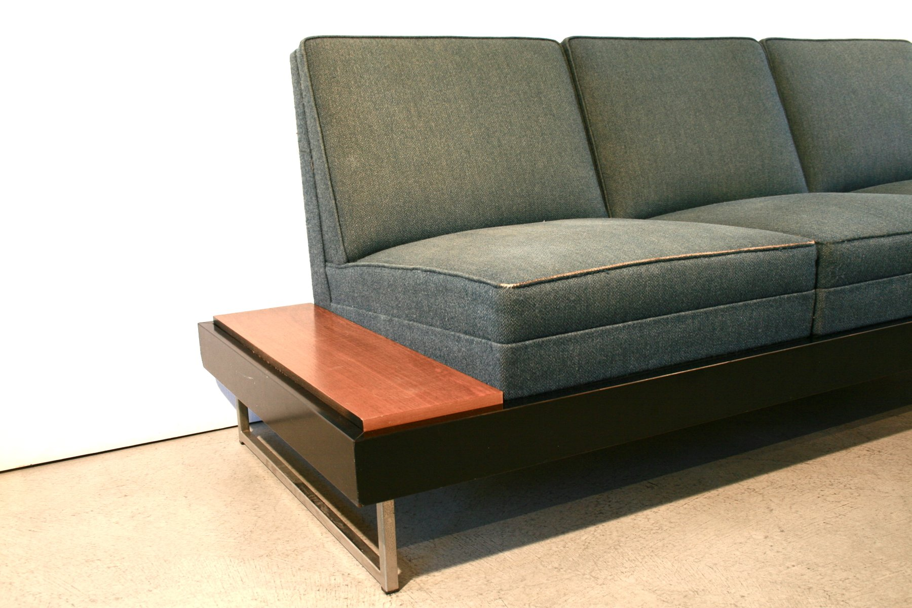sofa by george nelson 1950s for sale at pamono. Black Bedroom Furniture Sets. Home Design Ideas
