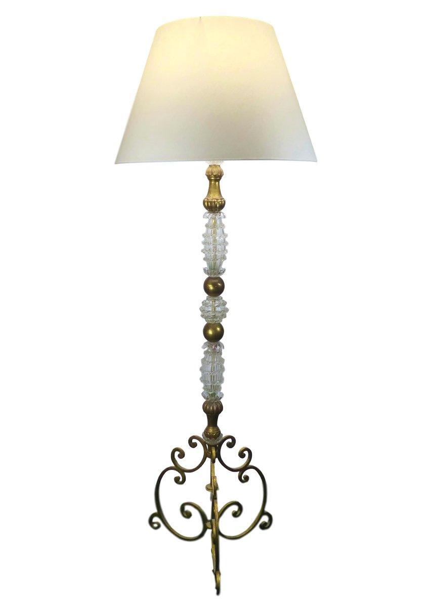 Vintage Murano Stehlampe, 1960er