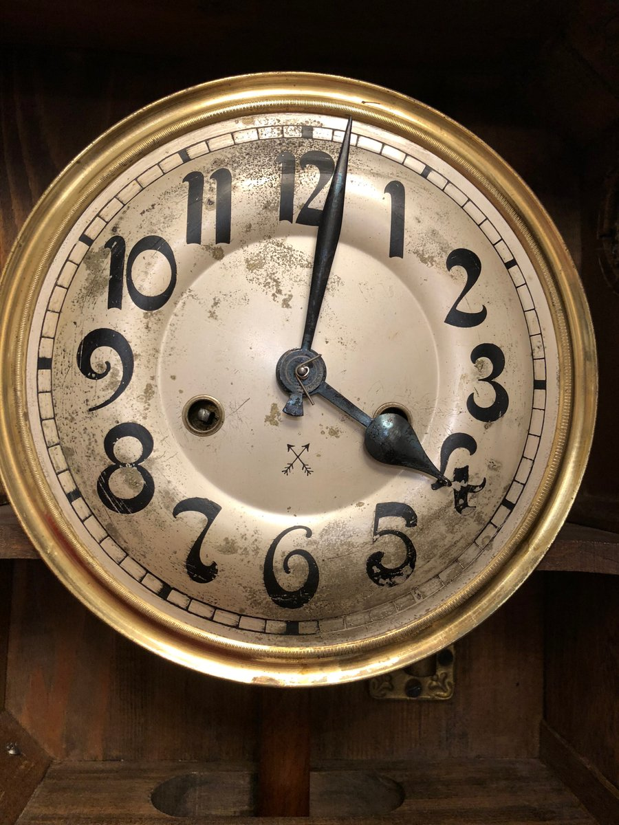 German Art Nouveau Wall Clock 1910s For Sale At Pamono