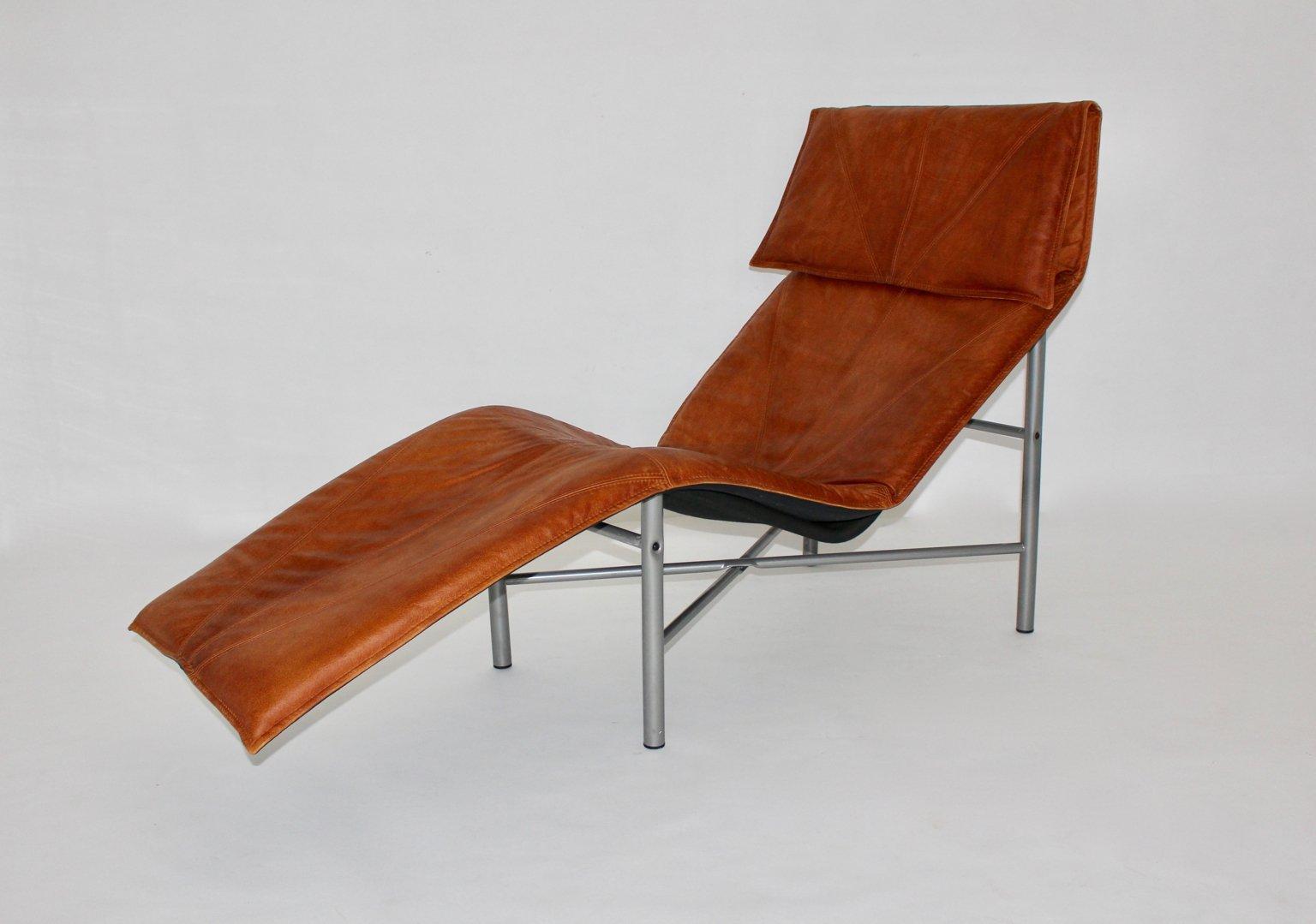 Chaise longue en cuir cognac par tord bjorklund su de 1970s en vente sur pamono - Chaise longue en anglais ...