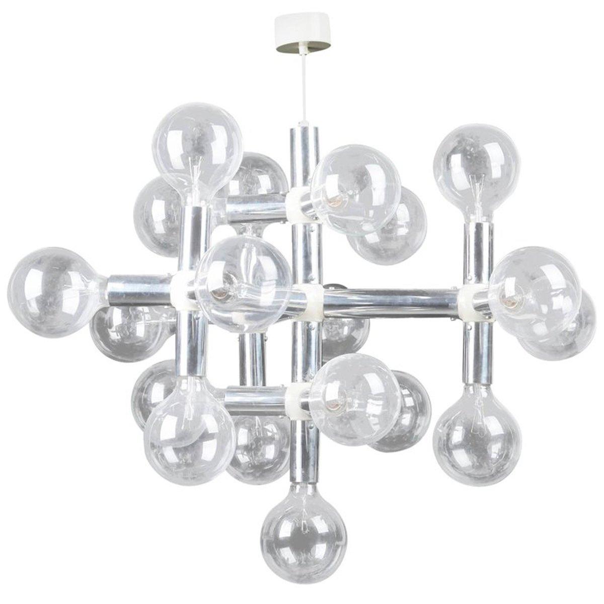 Atomic Kronleuchter von Robert Haussmann für Swiss Lamps International...