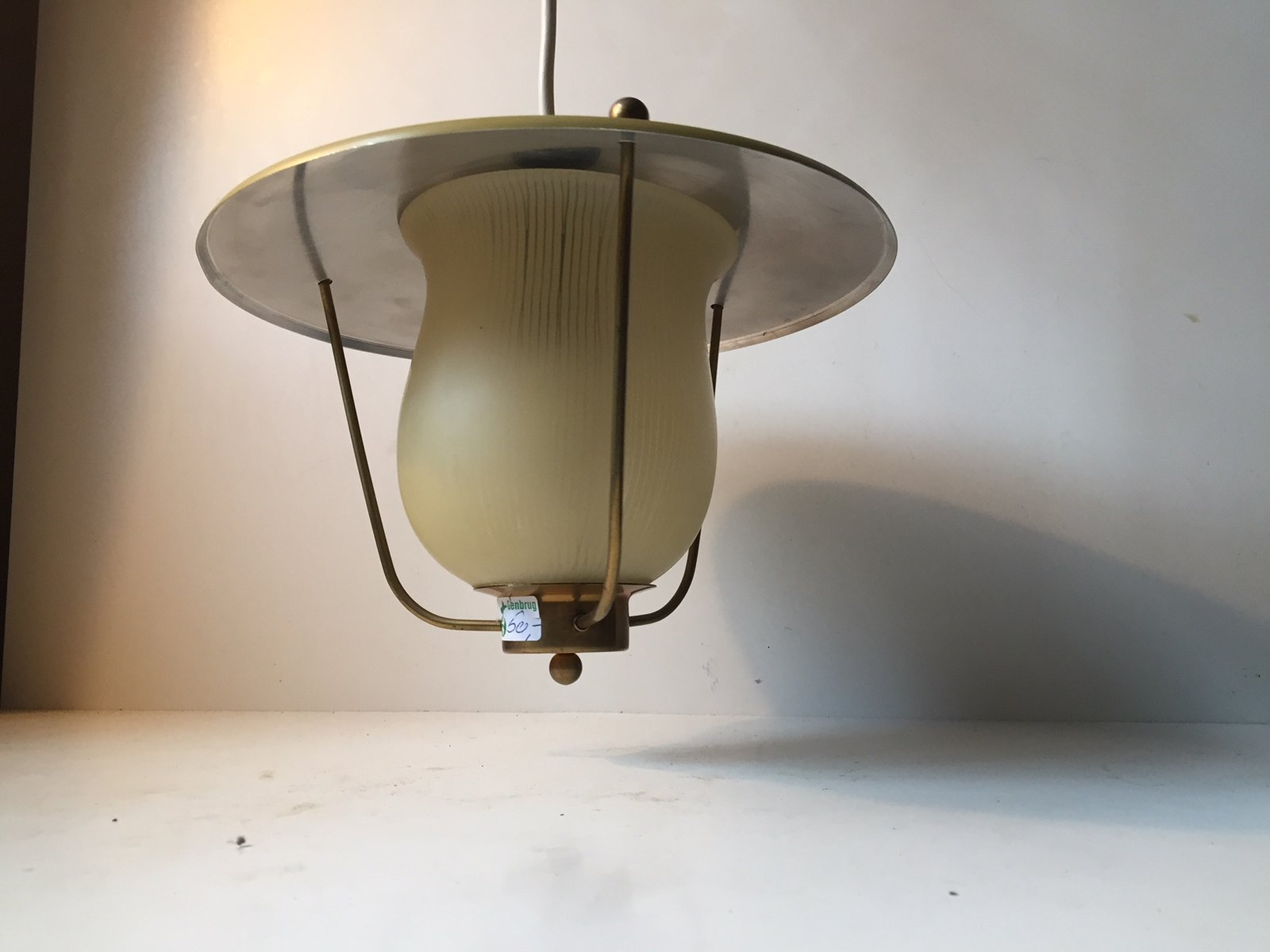 Danish funkis pendant lamp from lyfa 1940s for sale at pamono for Funkis sale