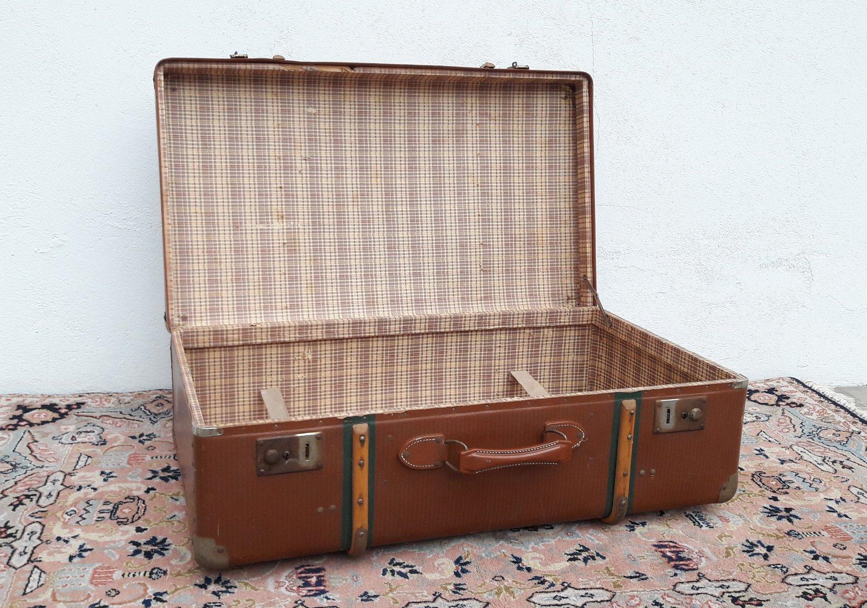 Valigia antica in metallo in vendita su pamono