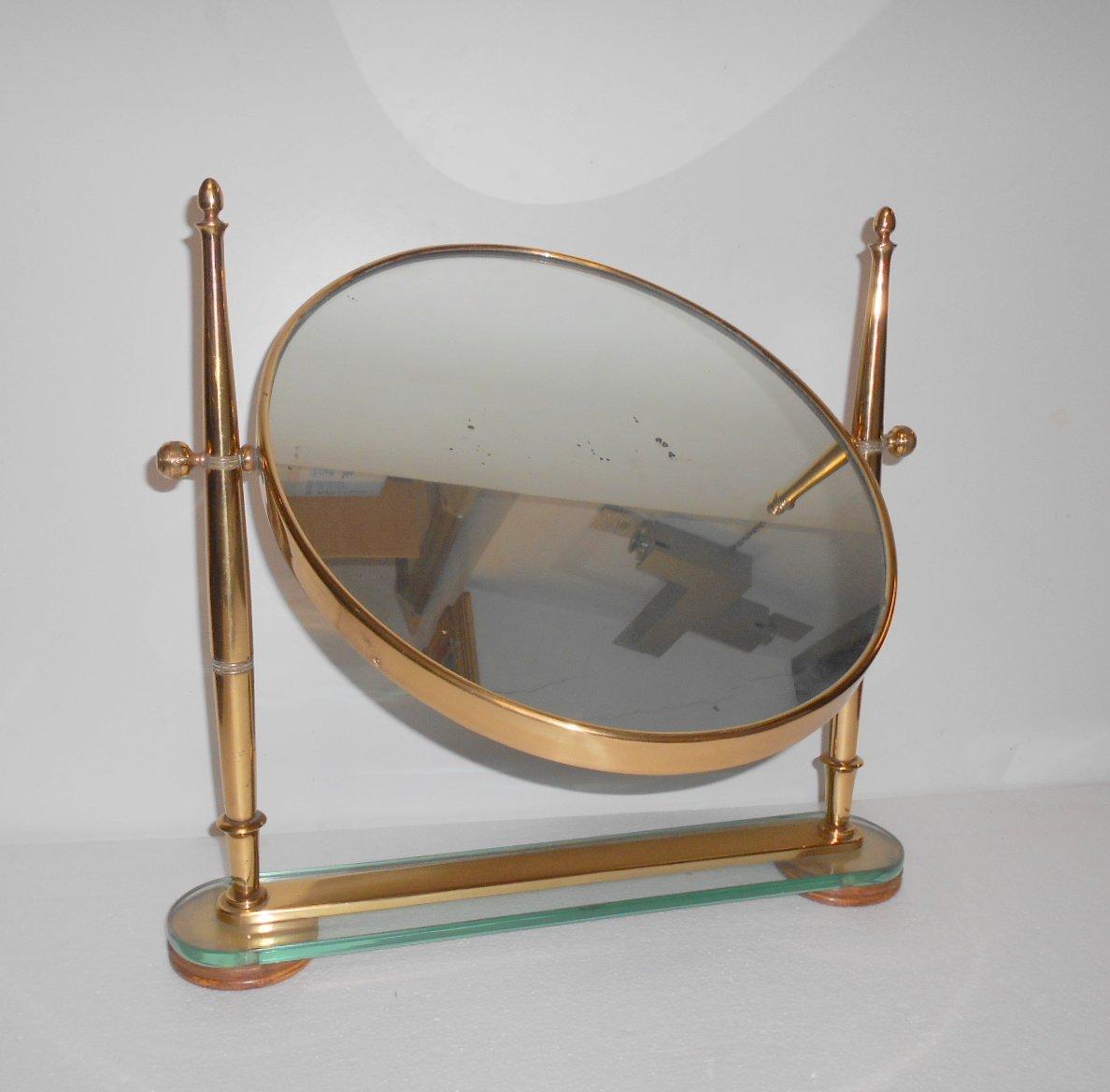 Specchio da tavolo di fontana arte anni 39 40 in vendita su pamono - Specchio da tavolo ...