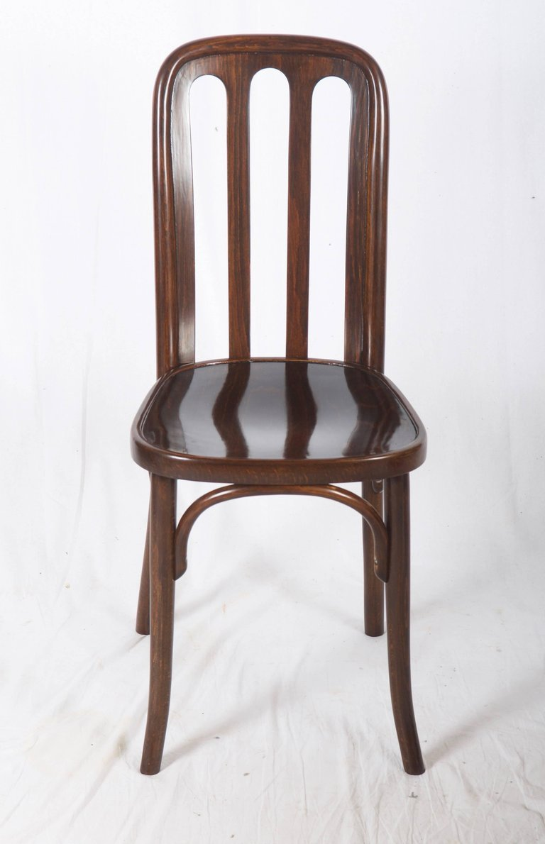 Price per piece - Antique Dining Chair By Josef Hoffmann For Thonet, 1910s For Sale At