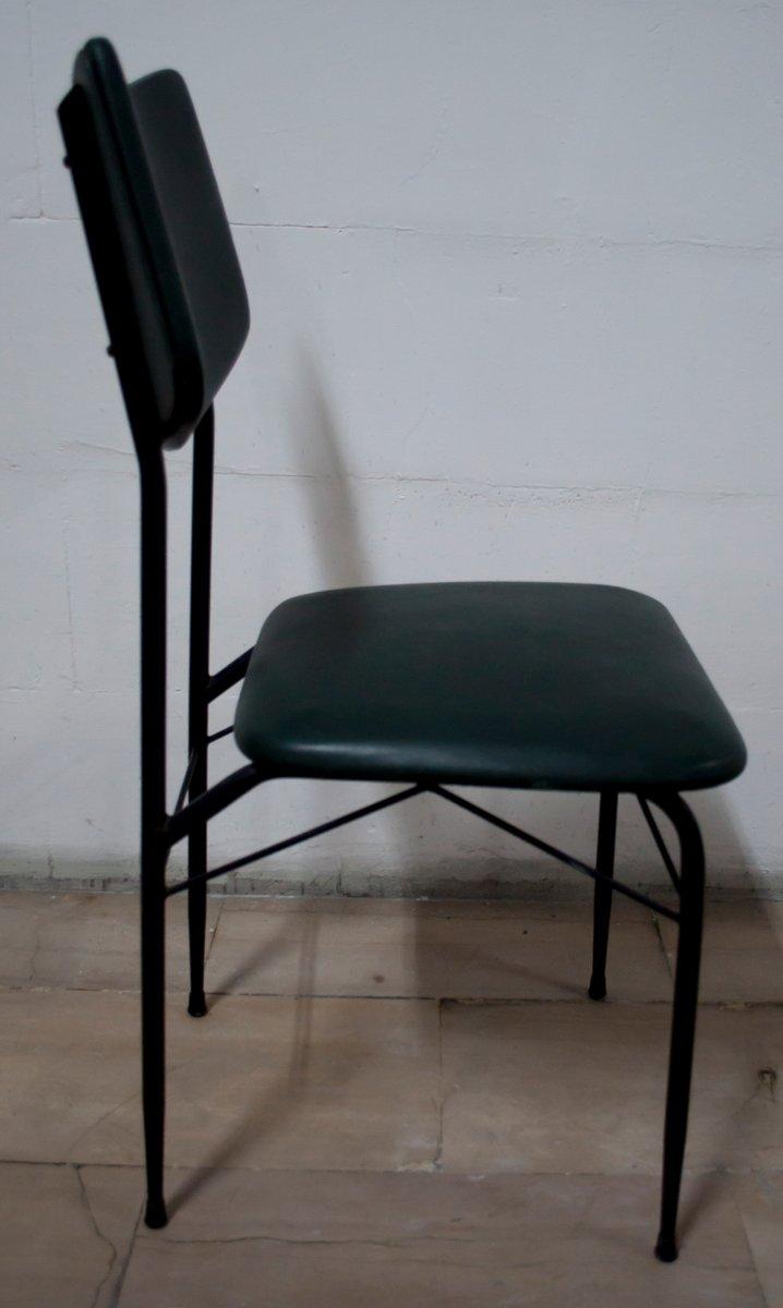 Tavolo da pranzo mid century con sei sedie anni 39 50 in - Sedie tavolo da pranzo ...
