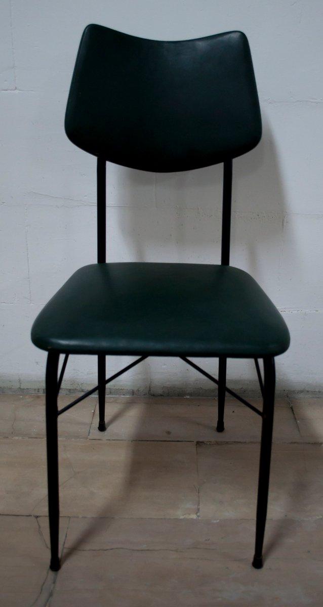 Tavolo da pranzo mid century con sei sedie anni 39 50 in for Tavolo da pranzo con sedie