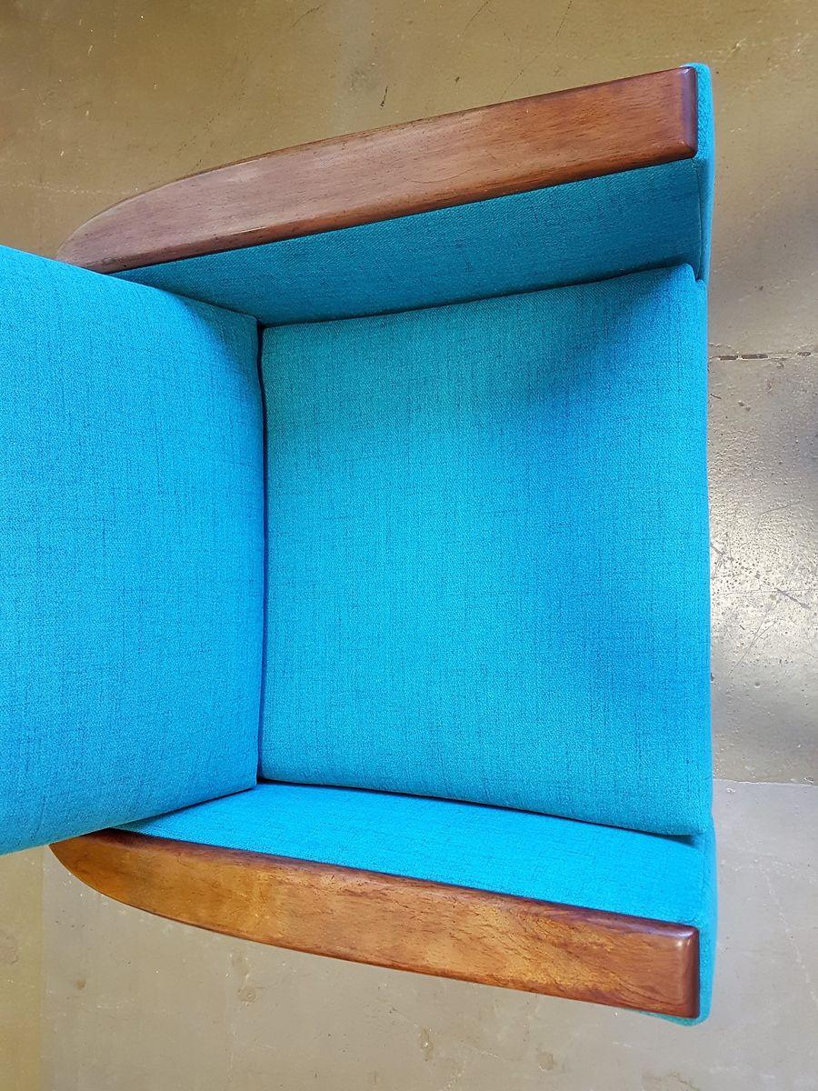 d nischer sessel mit hoher r ckenlehne 1960er bei pamono. Black Bedroom Furniture Sets. Home Design Ideas