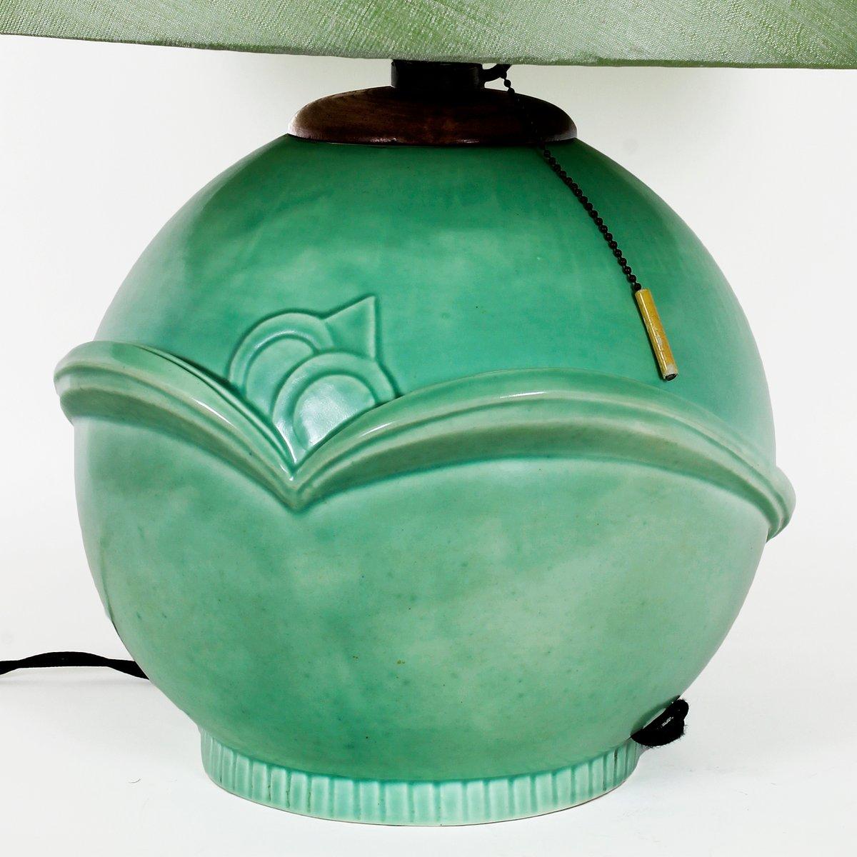 Tischleuchte aus keramik 1930er bei pamono kaufen - Keramik tischleuchte ...