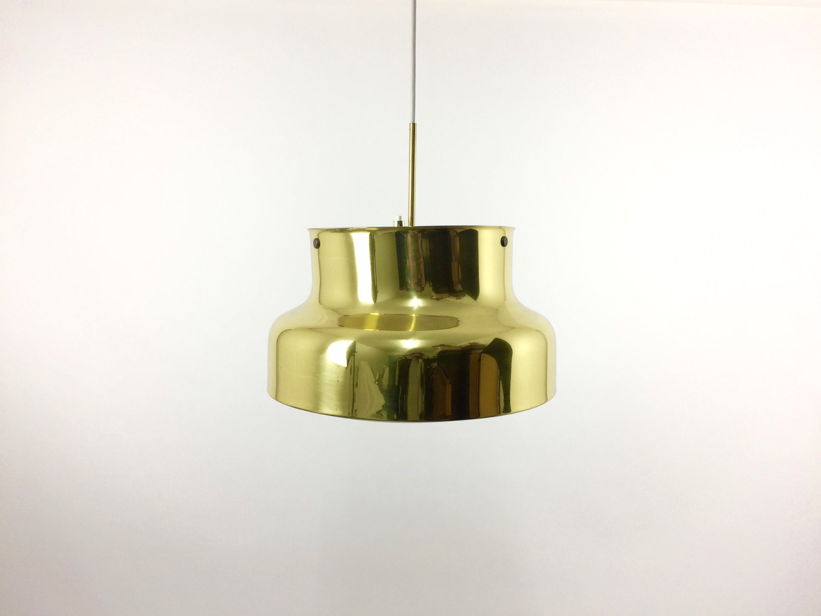 Große Bumling Lampe aus Messing von Anders Pehrson für Ateljé Lyktan, ...