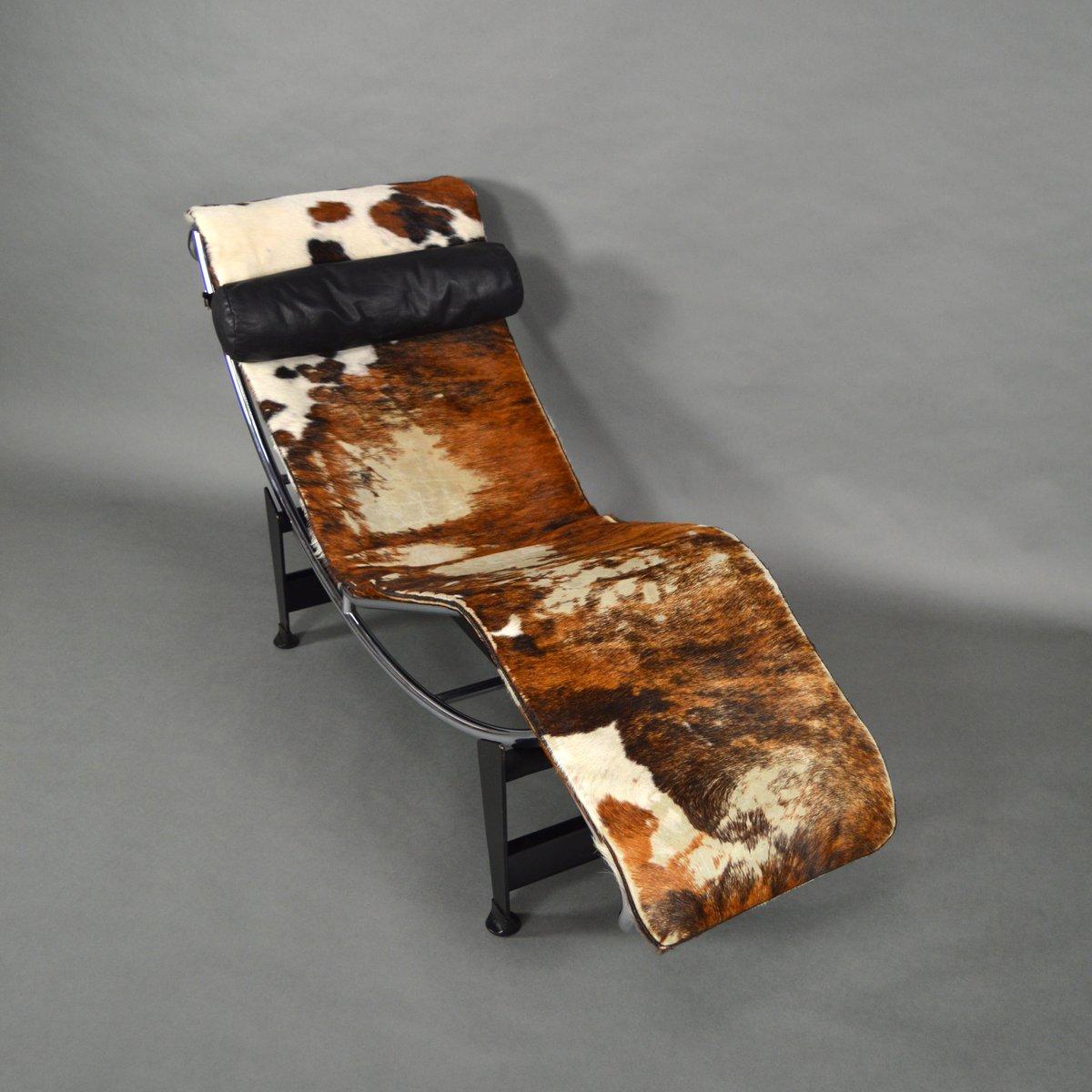 Chaise longue lc4 par le corbusier pour cassina 1960s en vente sur pamono - Chaise longue en anglais ...