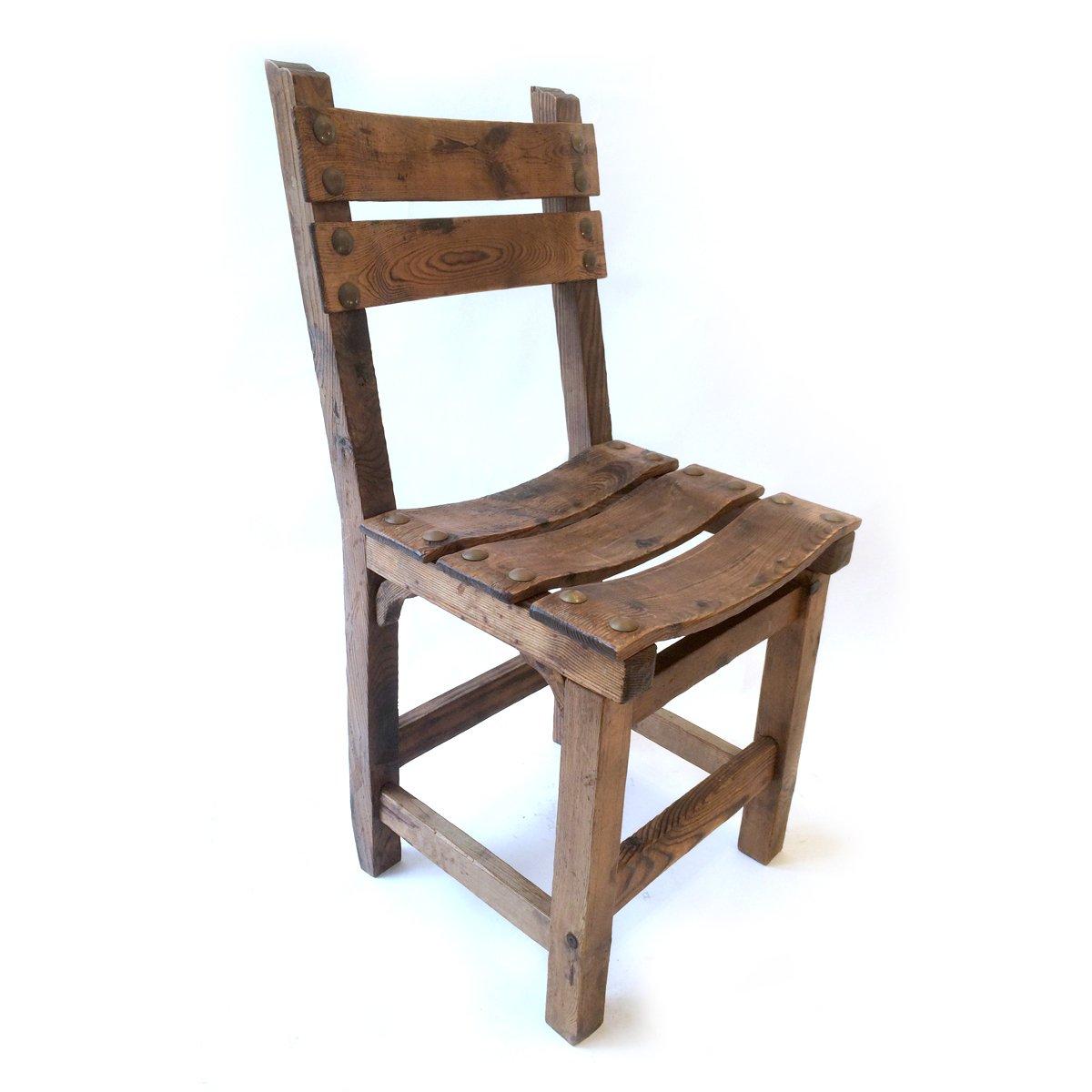 Merveilleux Pine Chair, 1950s