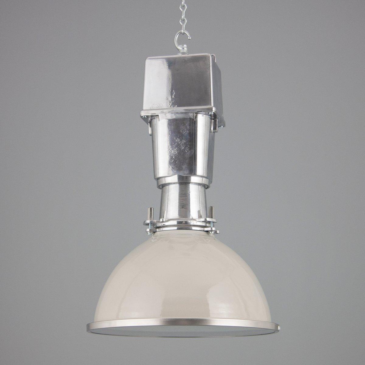 Britische Fabrik Deckenlampe von Thorlux, 1950er