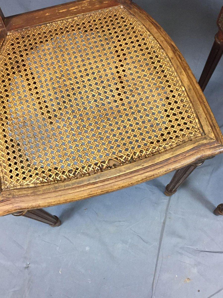 vintage eichenholz esszimmerst hle 2er set bei pamono kaufen. Black Bedroom Furniture Sets. Home Design Ideas