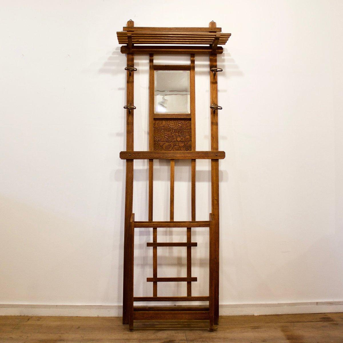 Holz Garderobe, 1930er