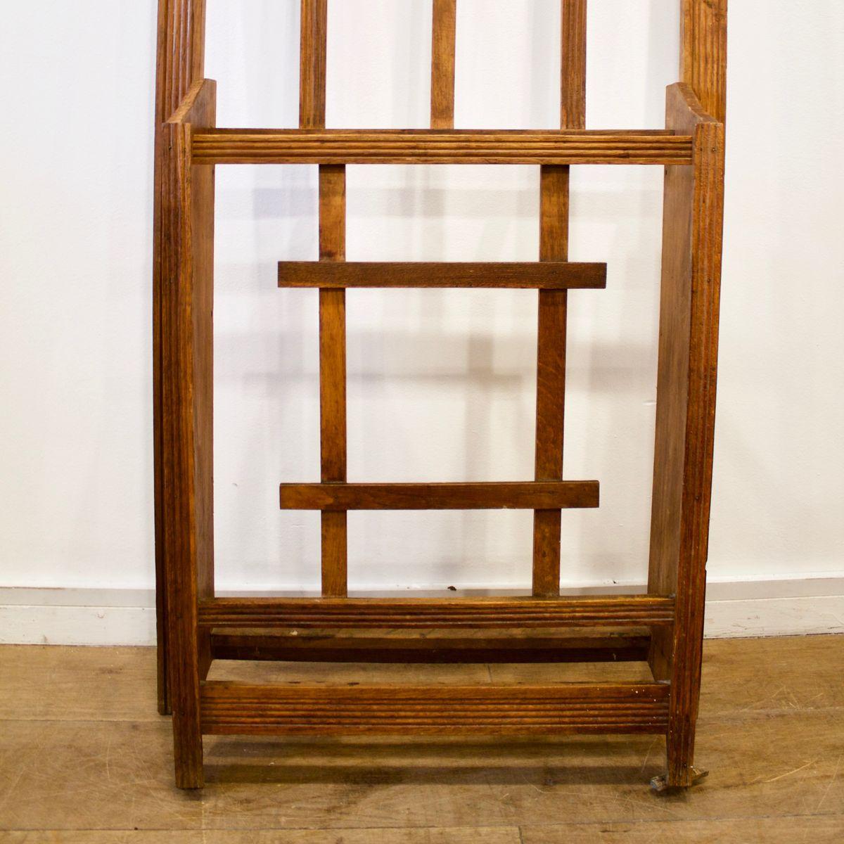 Attaccapanni a muro da ingresso in legno anni 39 30 in vendita su pamono - Attaccapanni a muro design ...