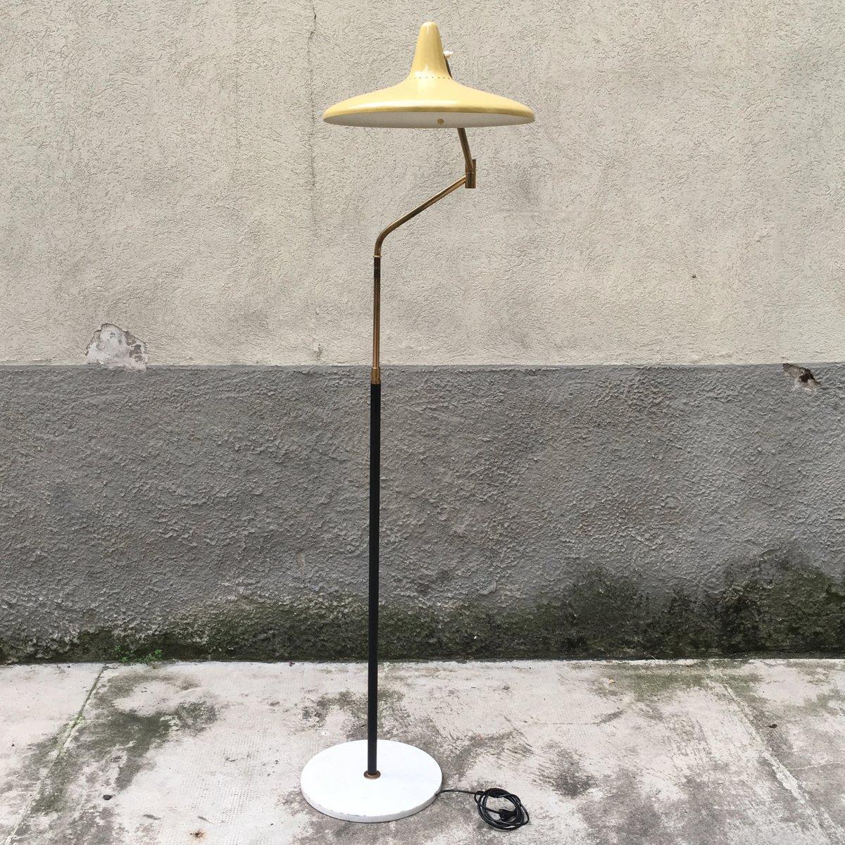 Verstellbare Stehlampe von Bruno Gatta für Stilnovo, 1950er