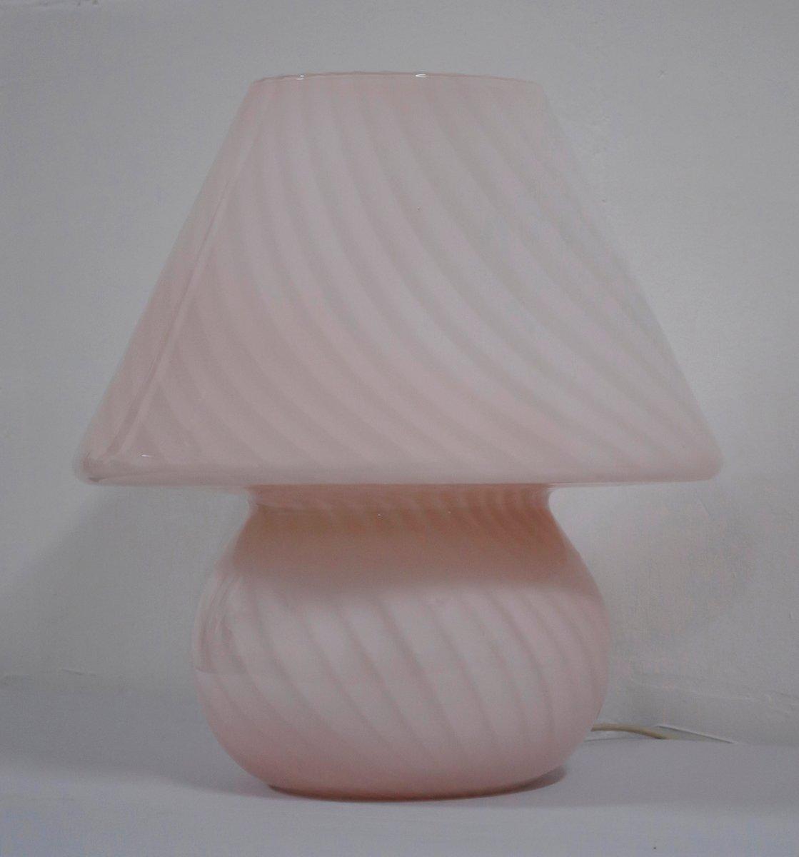 Vintage Mushroom Tischlampe von Paolo Venini für Venini, 1970er