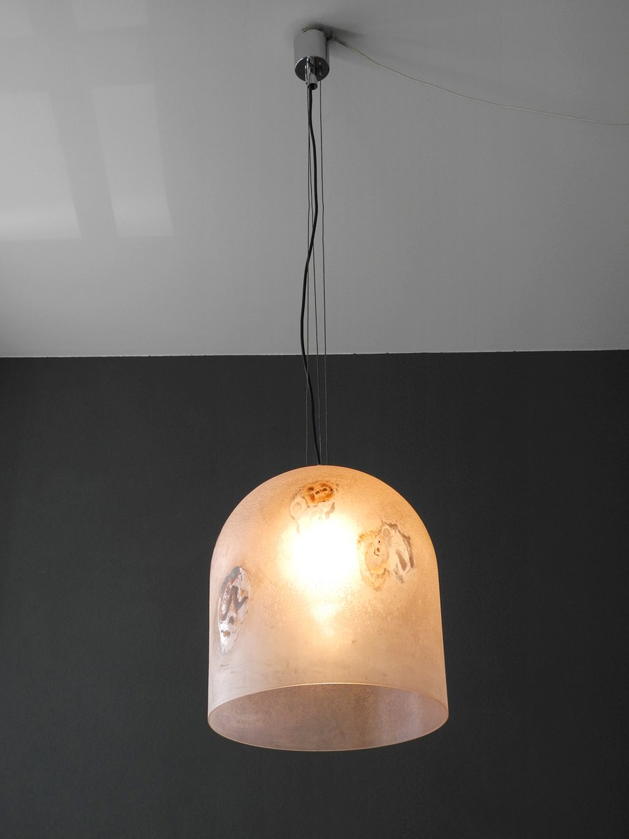Mid century large medusa glass pendant lamp by alfredo barbini for price per piece aloadofball Images