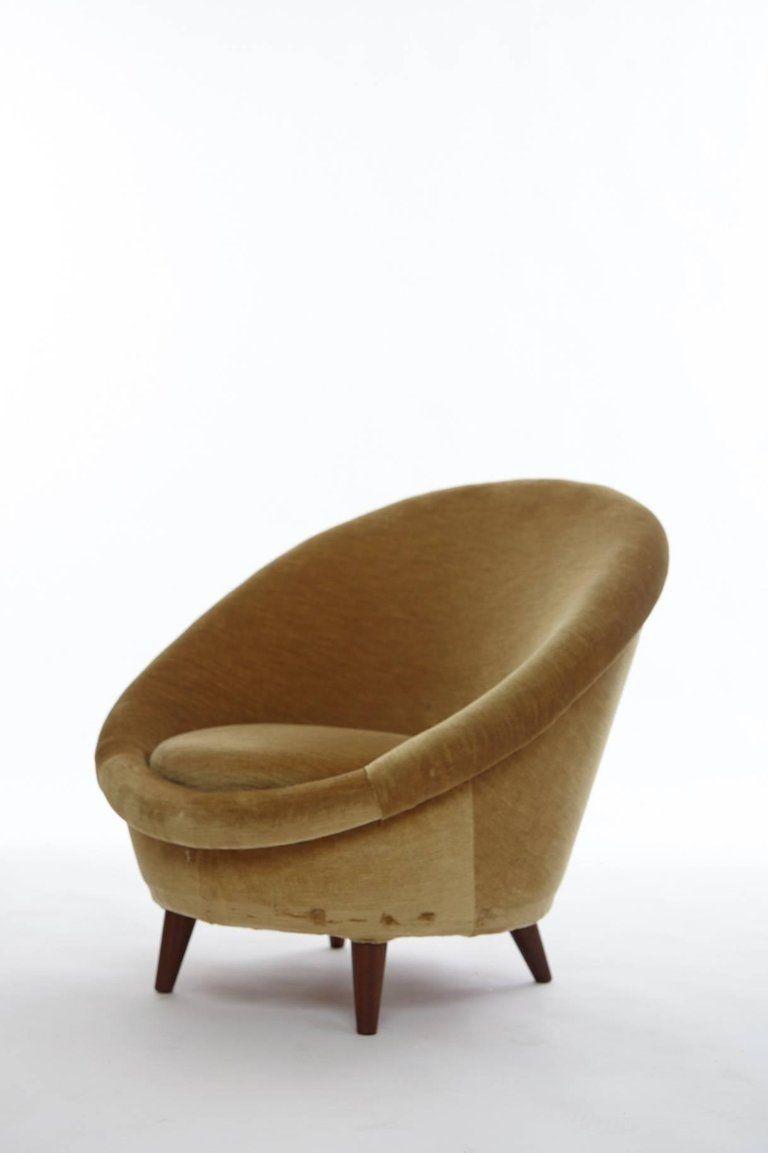 norwegischer egg chair 1950er bei pamono kaufen. Black Bedroom Furniture Sets. Home Design Ideas