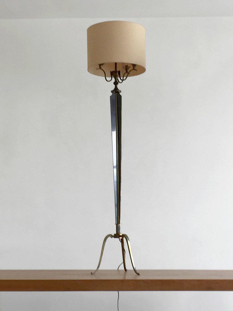 Stehlampe im Neoklassizistischen Stil von Maison Jansen, 1960er