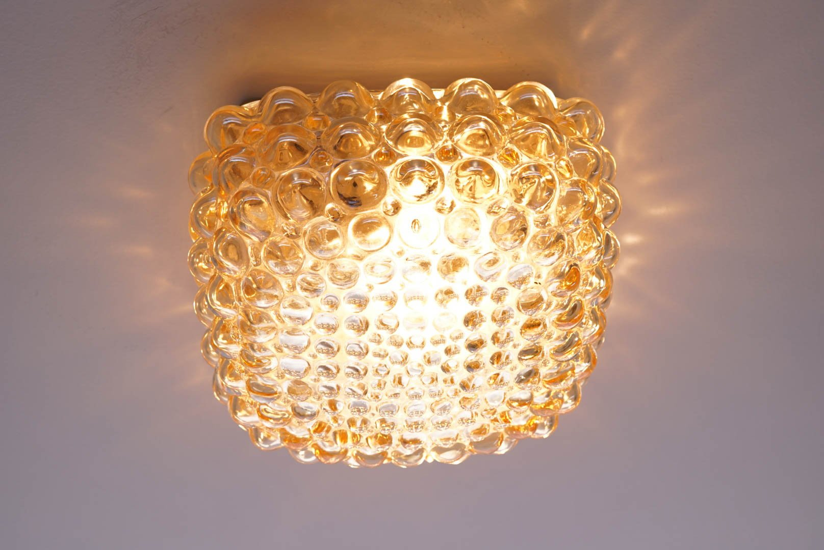 Mid Century Bubble Lamp By Helena Tynell For Limburg 1960s For Sale