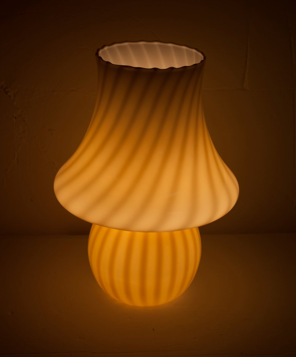 Mid Century Mushroom Lamp By Paolo Venini For Venini