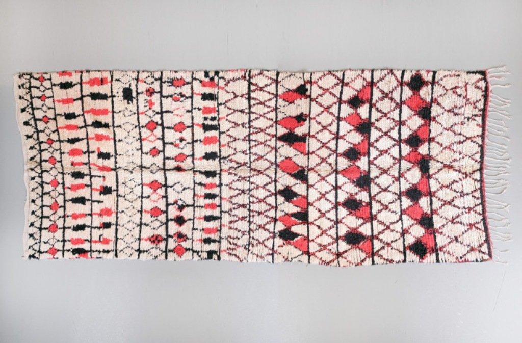vintage berber beni ouarain teppich bei pamono kaufen. Black Bedroom Furniture Sets. Home Design Ideas