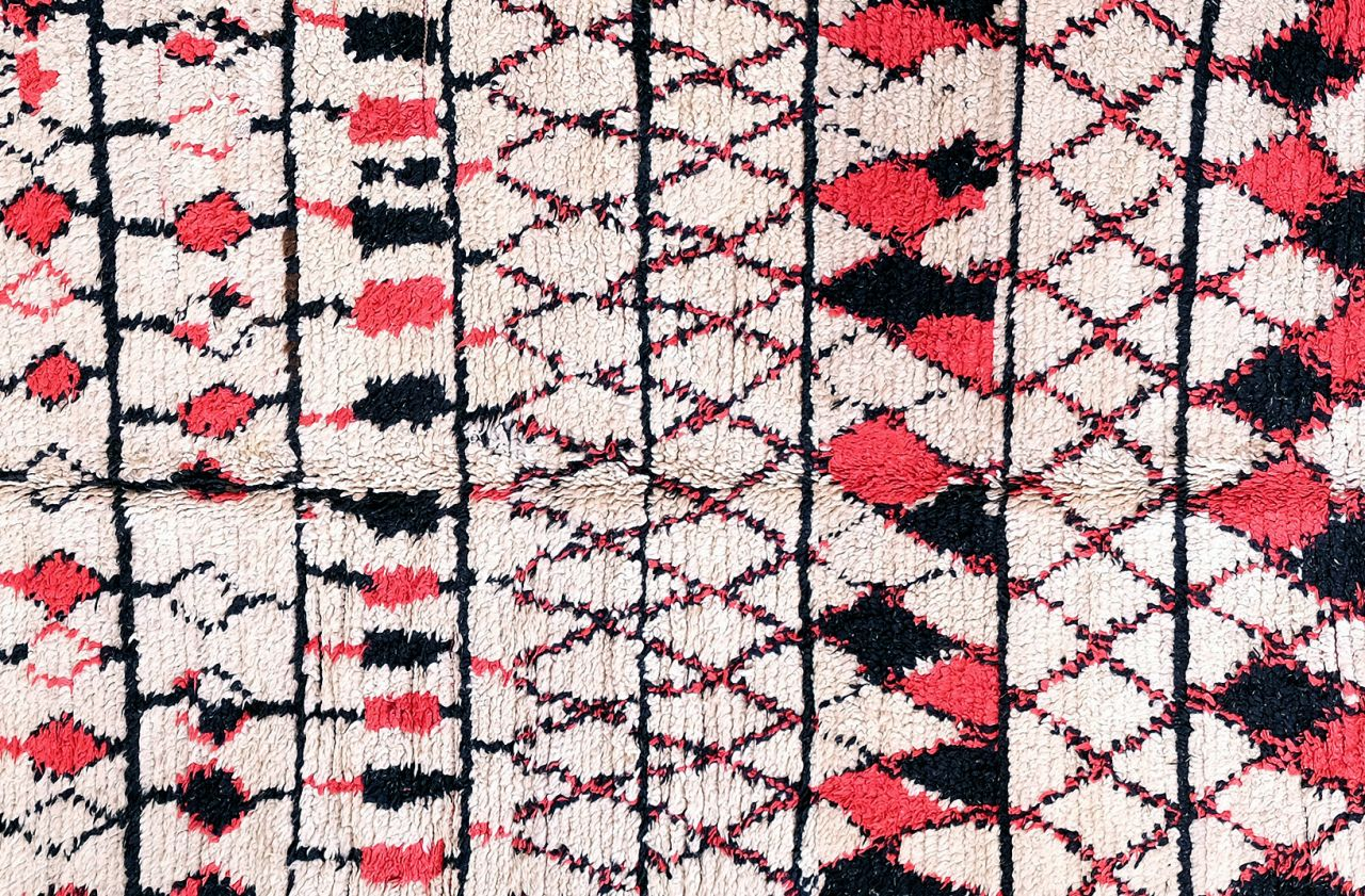 vintage berber beni ouarain carpet for sale at pamono. Black Bedroom Furniture Sets. Home Design Ideas