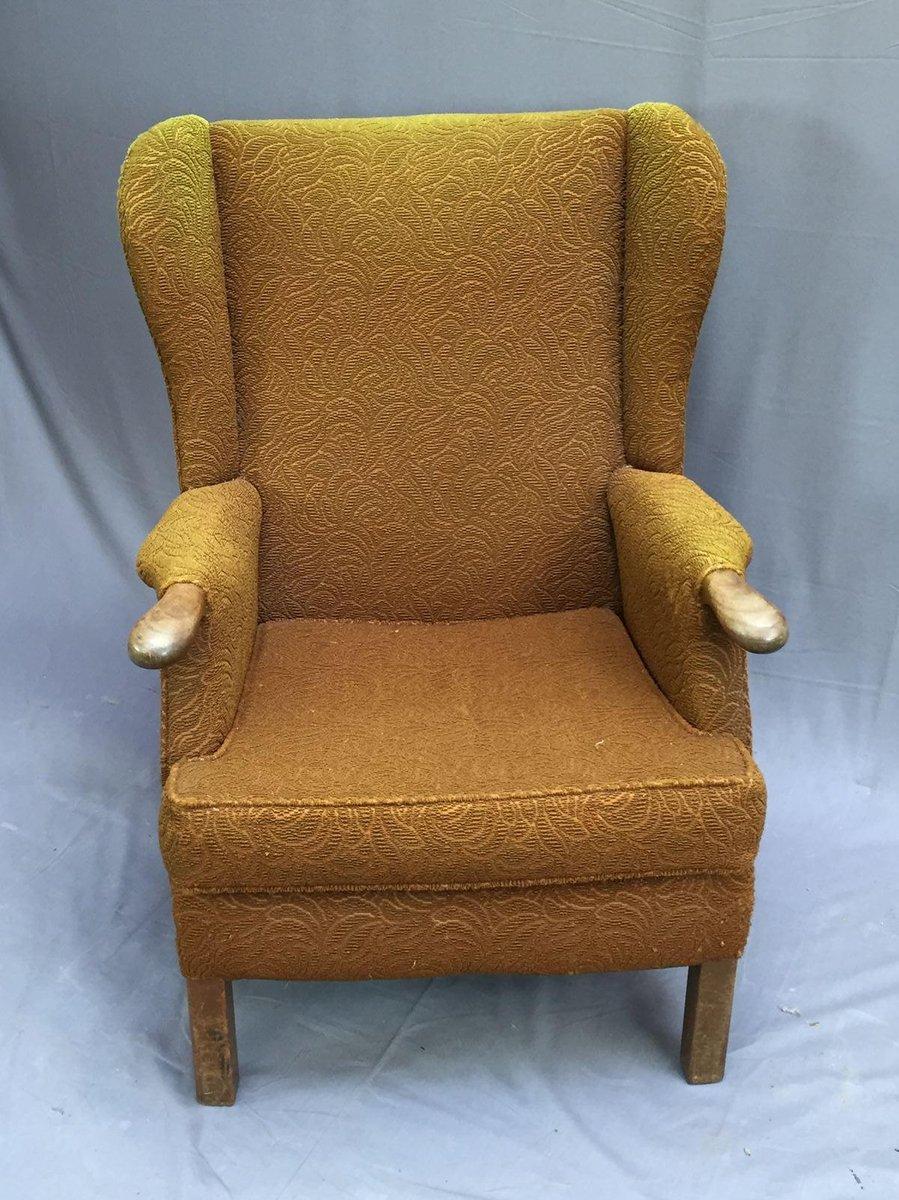 Vintage Wingback Chair - Vintage Wingback Chair For Sale At Pamono