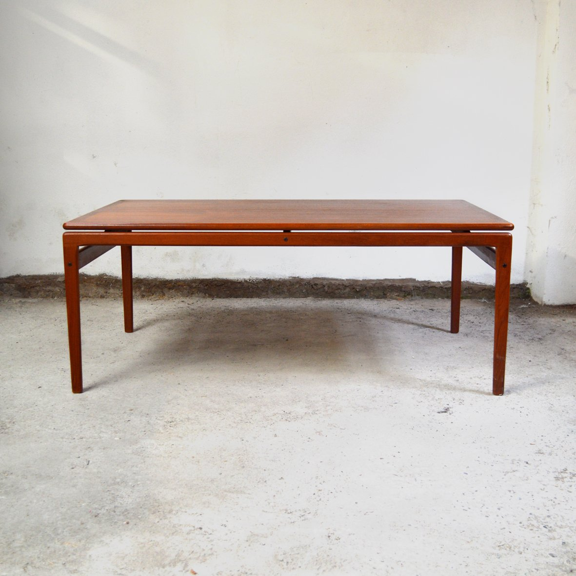 Scandinavian Teak Coffee Table: Danish Teak Coffee Table From Trioh, 1970s For Sale At Pamono