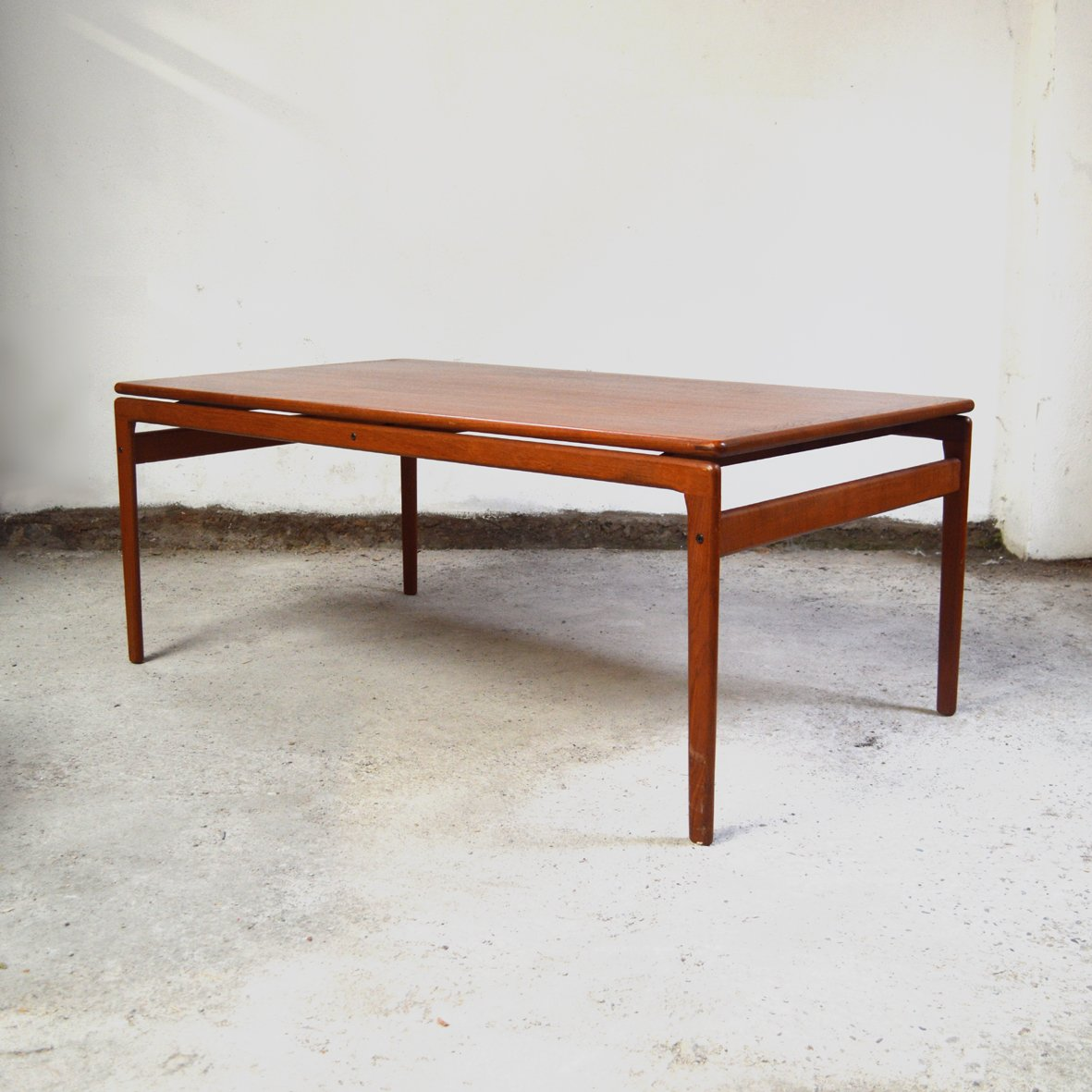 Teak Oil Coffee Table: Danish Teak Coffee Table From Trioh, 1970s For Sale At Pamono