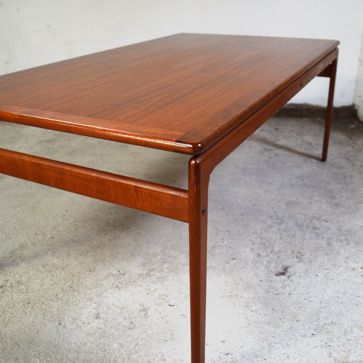 Danish Teak Coffee Table From Trioh, 1970s For Sale At Pamono