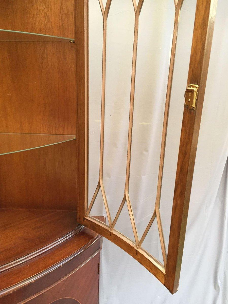 armoire d 39 angle 1950s en vente sur pamono. Black Bedroom Furniture Sets. Home Design Ideas