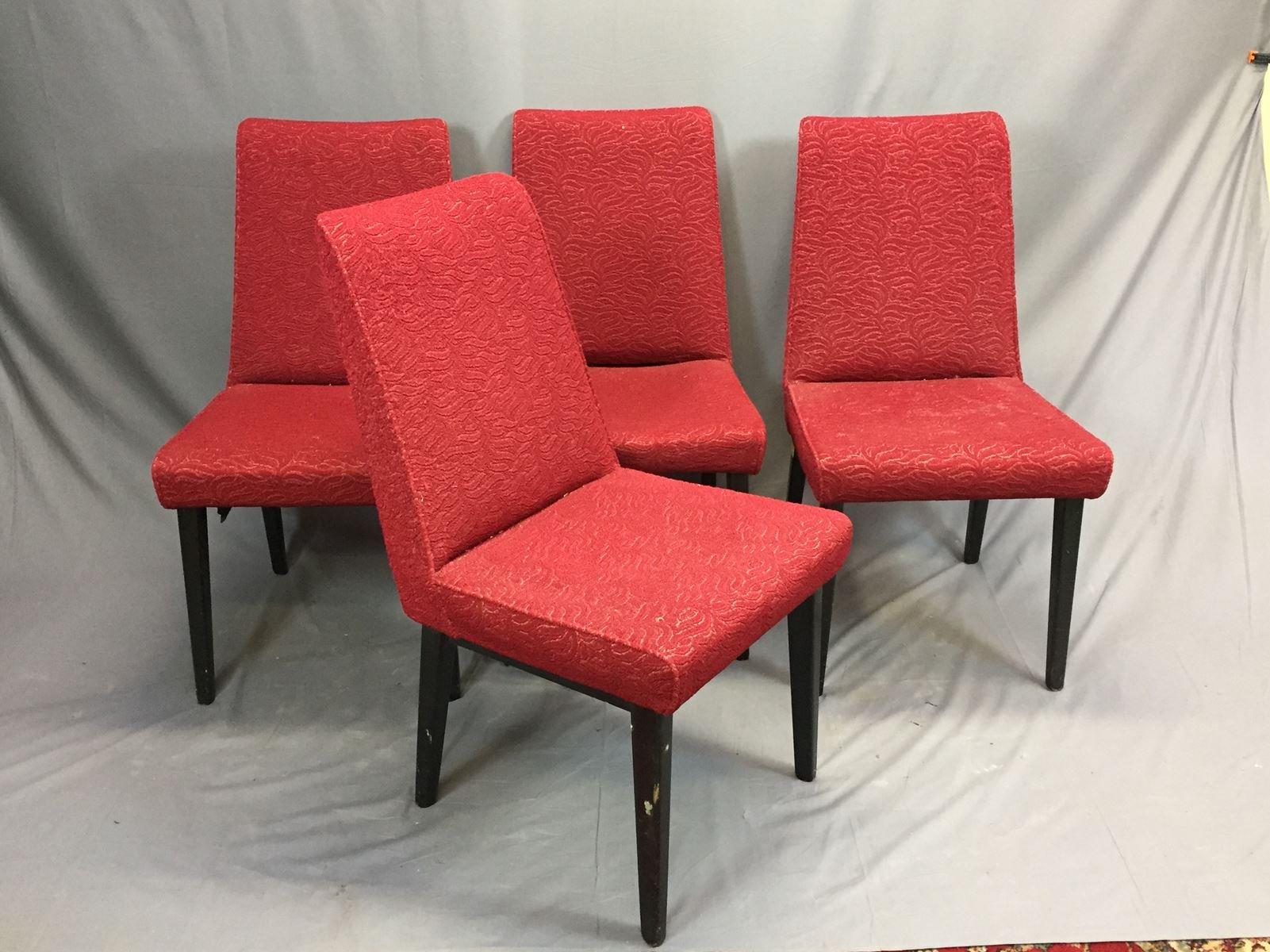 st hle mit kompassf en 1970er 4er set bei pamono kaufen. Black Bedroom Furniture Sets. Home Design Ideas
