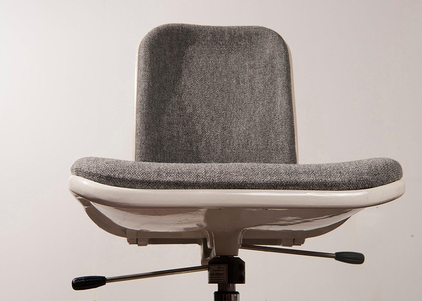 Chaise De Bureau Supporto Par Fred Scott Pour Hille Uk 1970s En