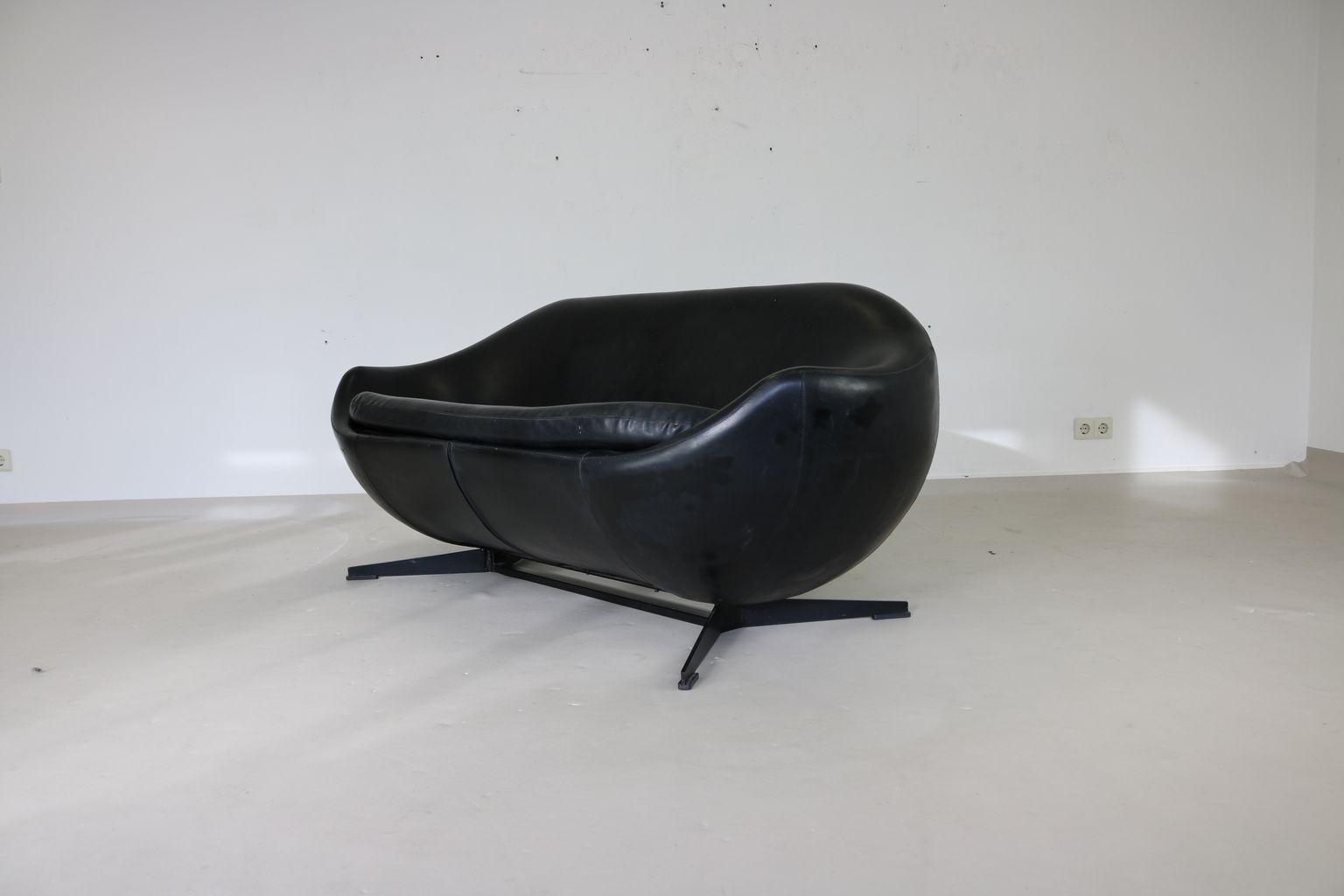 Belgisches 2-Sitzer Sofa von Pierre Guariche für Meurop, 1960er