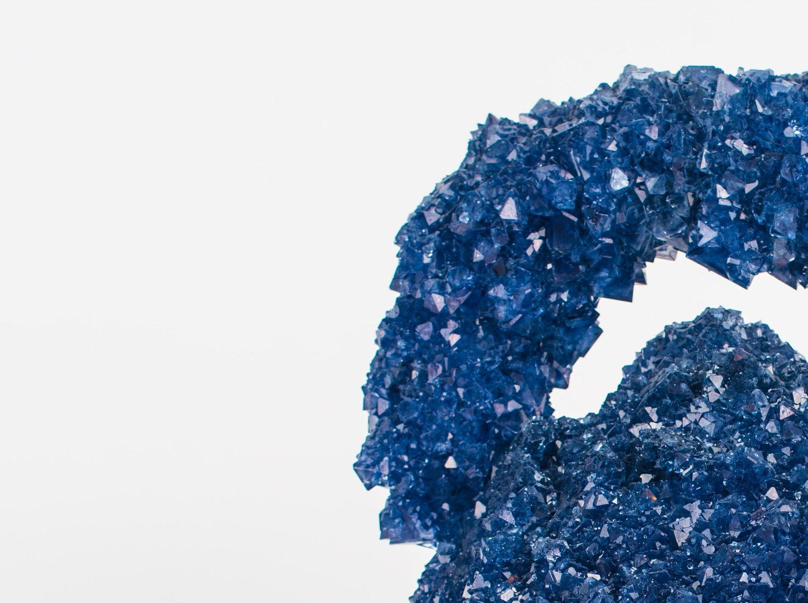 blauer crystallized icons alessi wasserkocher von isaac mont bei pamono kaufen. Black Bedroom Furniture Sets. Home Design Ideas