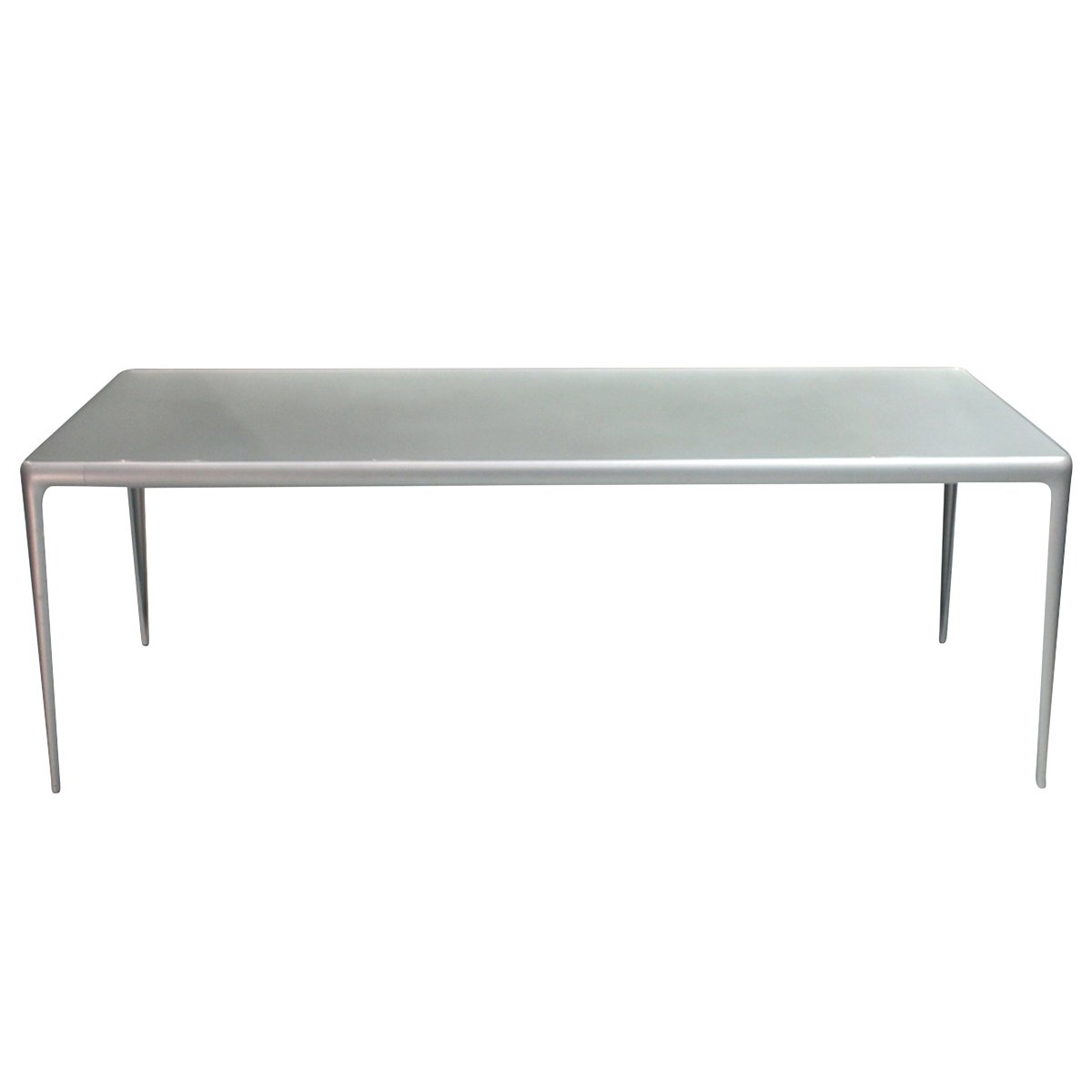 Vintage Flat Egg Dining Table By Philippe Starck For Driade