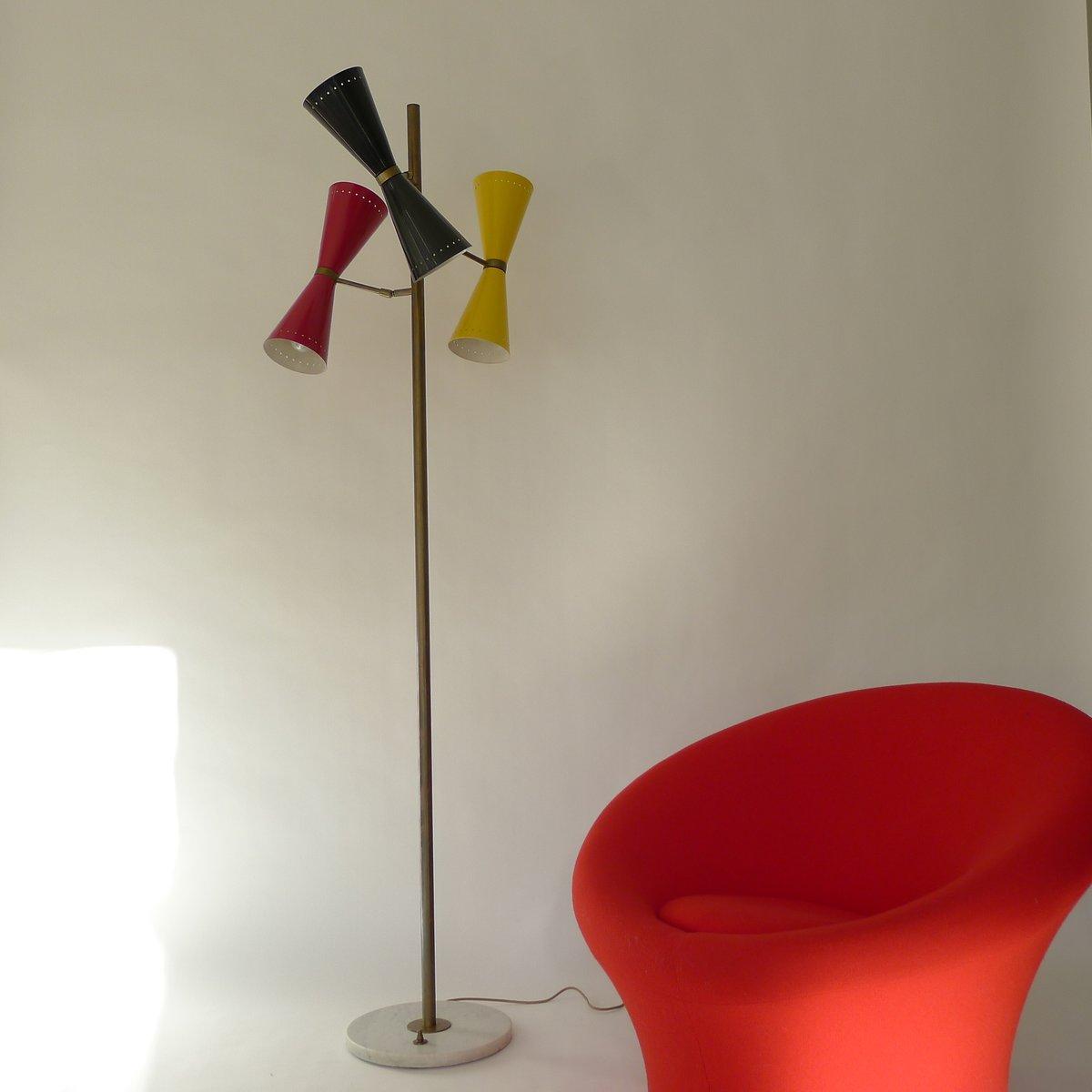 Vintage Diabolo Stehlampe